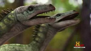 Raptors vs  T-Rex  episode Jurassic Fight Club Dromaeosaurus
