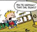 Calvin in Whaler Form