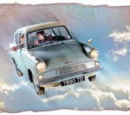 The Weasley's Flying Ford Anglia