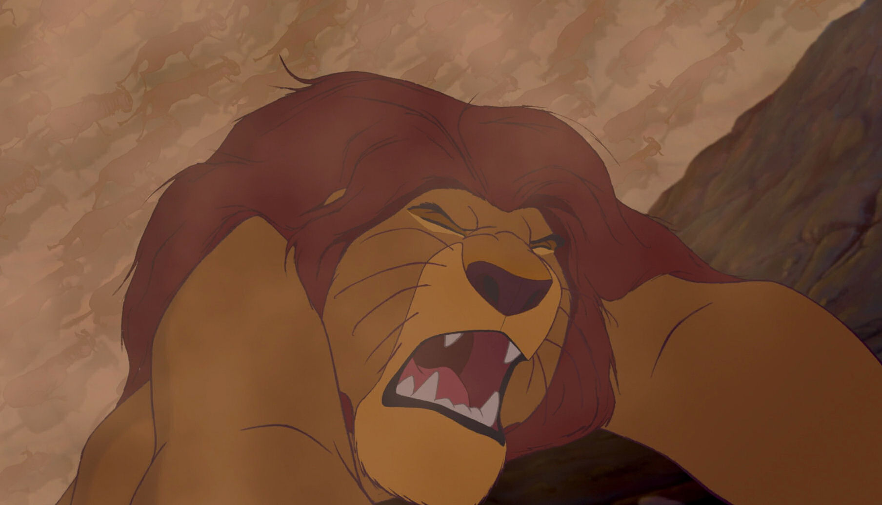 The Lion King Mufasa Roar