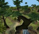 Parcele w The Sims Historie
