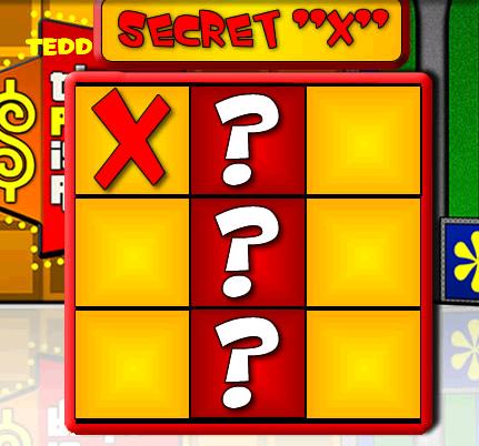 Secret X Price Is Right
