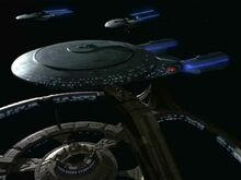 USS Venture and Excelsiors