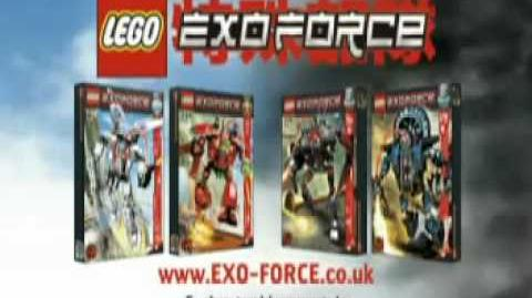 LEGO Exo-force 2006 human commercial
