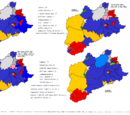 Federal General election results charts (Mercia- UDI 1995)