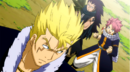 Natsu and Gajeel want to fight with Laxus.png