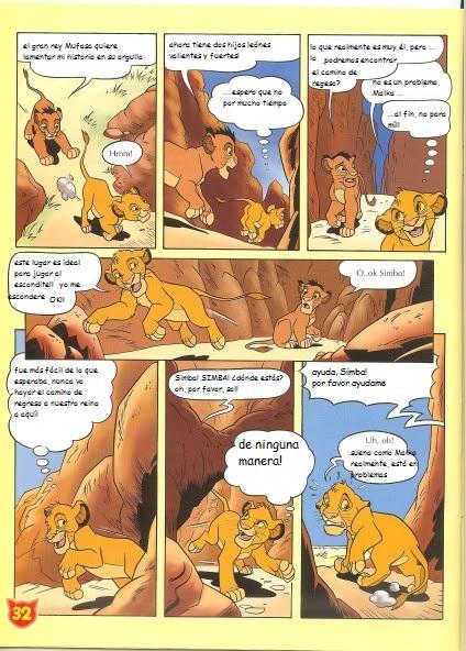 El nuevo hermano de Simba (cómic) Snewbrother3