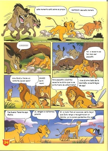 El nuevo hermano de Simba (cómic) Snewbrother5