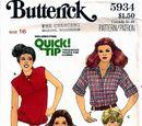 Butterick 5934 A