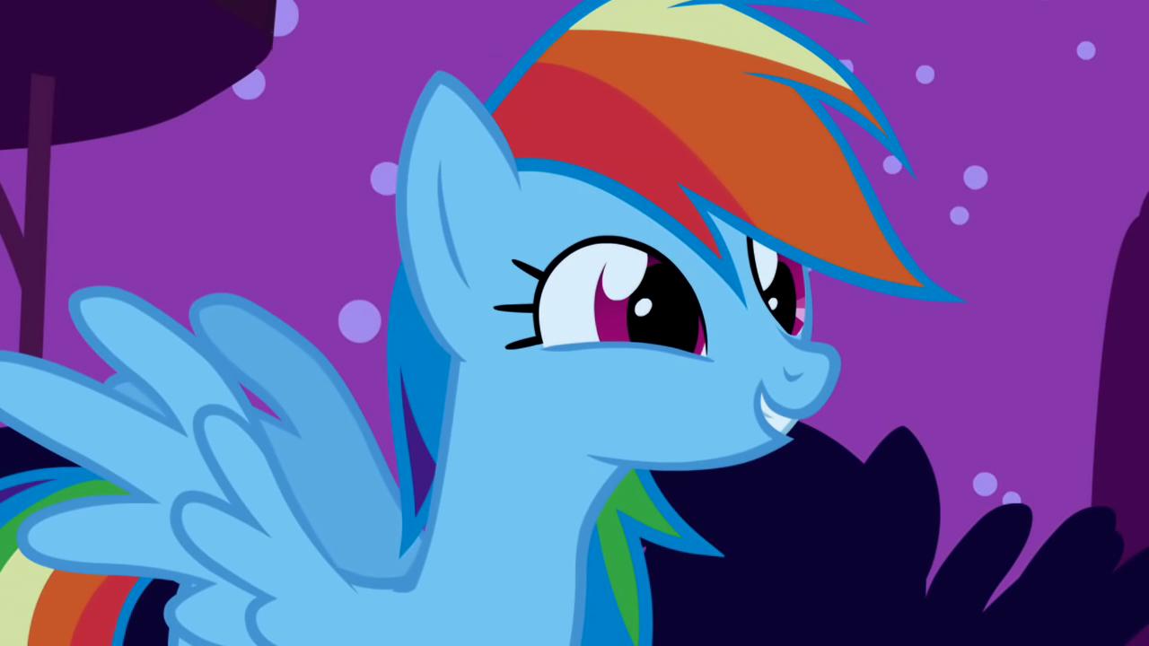 Pony Friendship Is Magic Rainbow Dash Filly Sonic Rainboom Rainbow