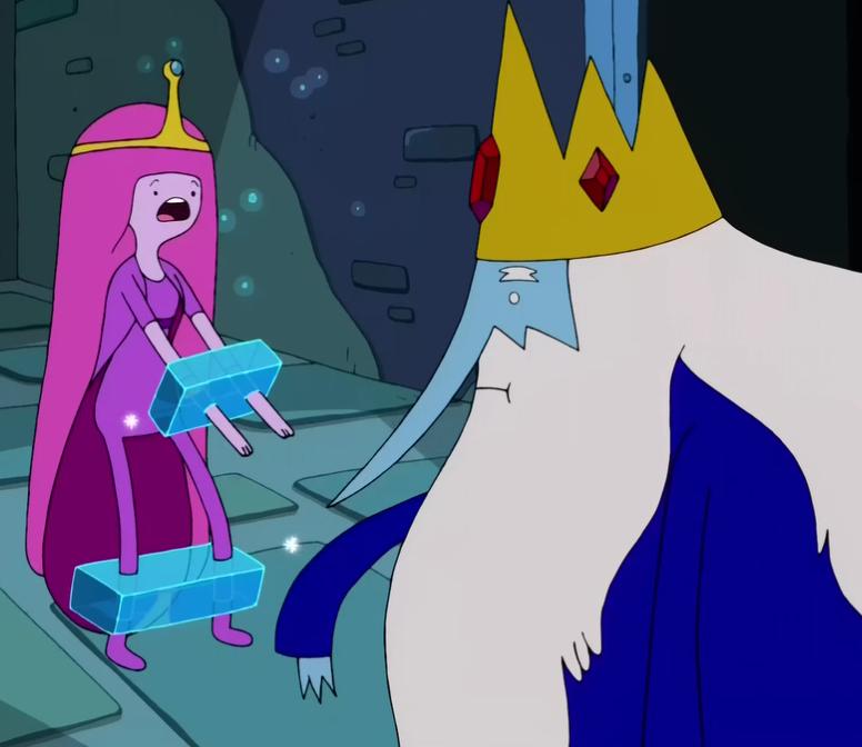Ice King And Princess Bubblegum S2e24 princess bubblegum ice