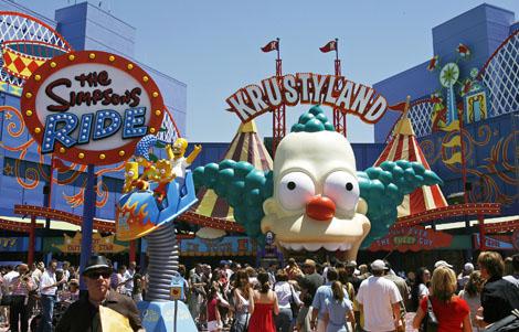 Krustyland at Universal Studios Florida