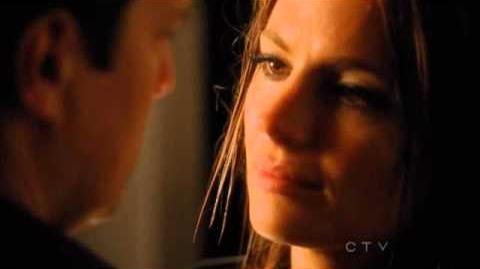 KISSING SCENE Castle and beckett - Season 4 Finale