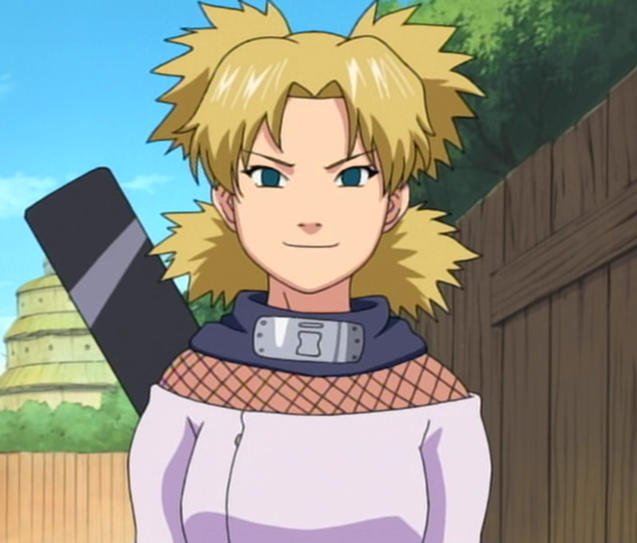Temari - Naruto... Naruto Shippuden Susanoo Kurama