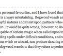 Wand Wood/Dogwood