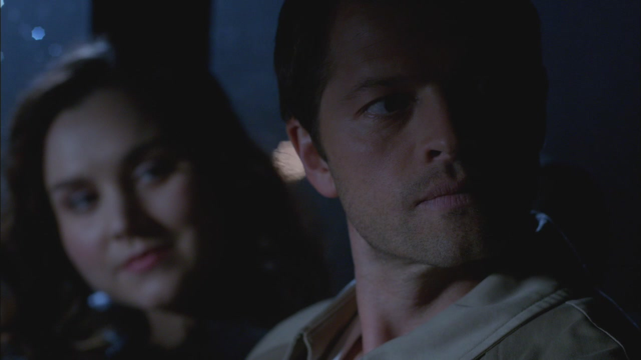Castiel And Meg Supernatural Scary Just Got Sexy