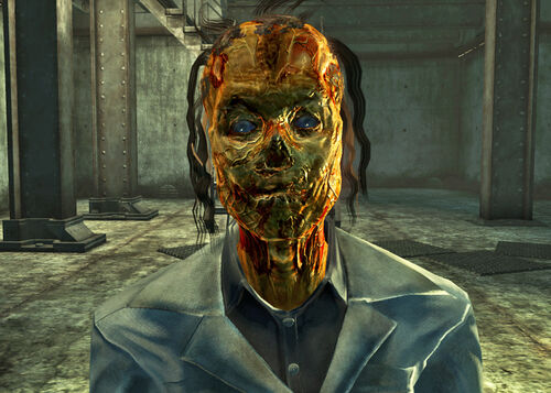 Fallout 3 how to get ghoul mask