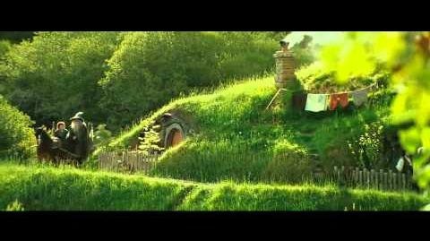 LOTR The Fellowship Of The Ring Gandalf Arrvies The Shire