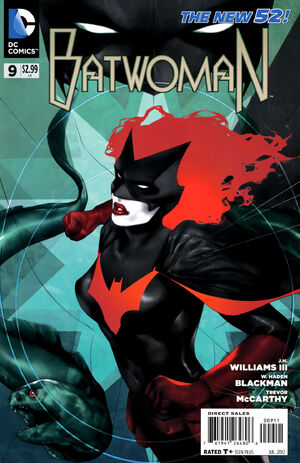 Cover for Batwoman #9 (2012)