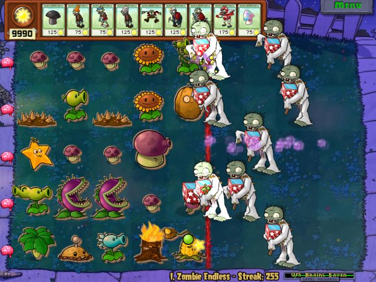 Jack in the Box Zombie Plants vs.Zombies