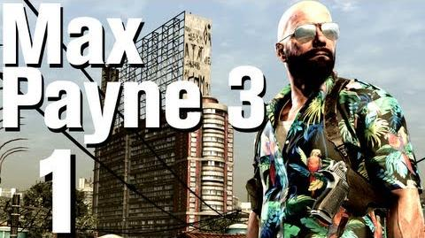 Max Payne 3 Walkthrough Part 1 Chapter 1 - Introduction No Commentary HD Xbox 360