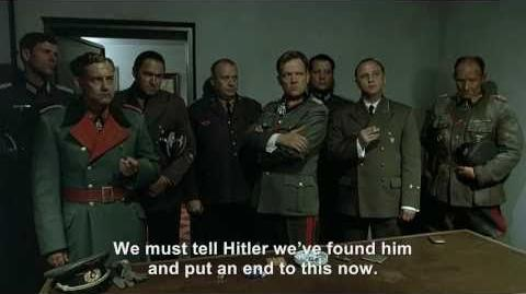 Goebbels wants to tell Hitler they've found Fegelein