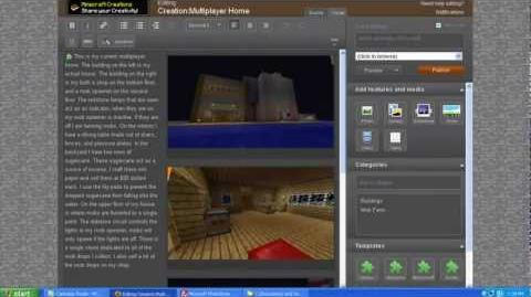 Minecraft Creations Wiki How to post your creation