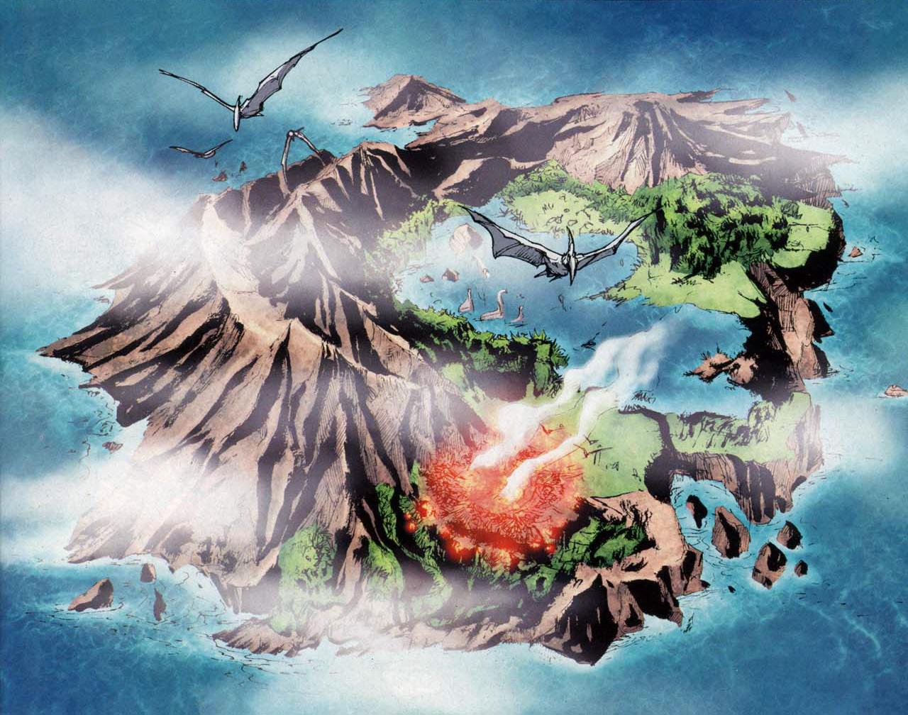 Dinosaur Island - DC Comics Database