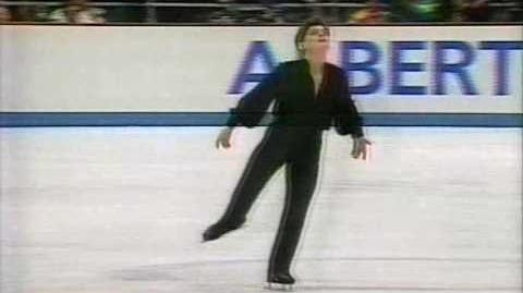 Paul Wylie (USA) - 1992 Albertville, Men's Free Skate