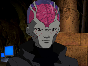 Young Justice The Brain Psimon - Young ...