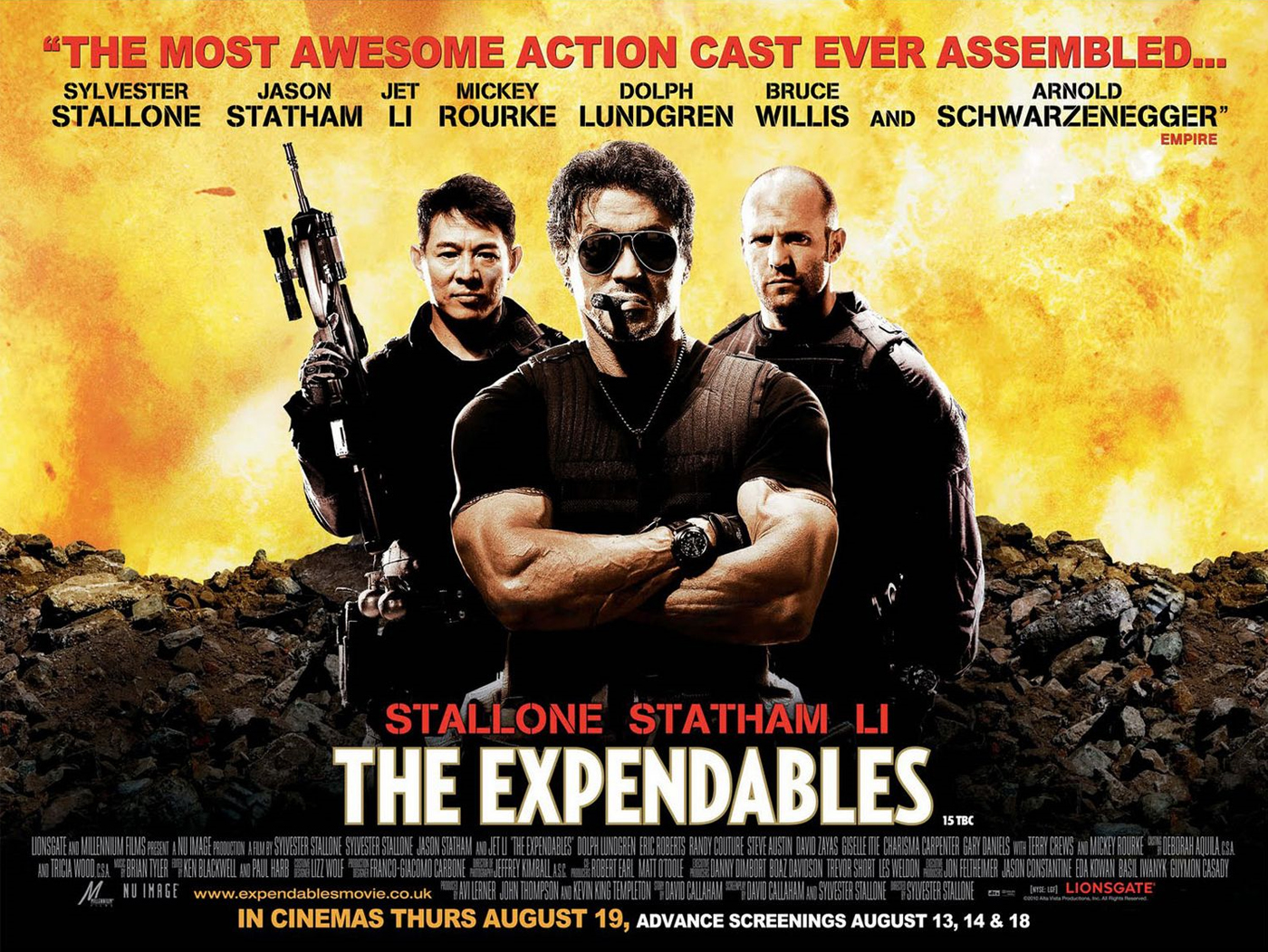 Movies you really enjoyed The-expendables-poster1