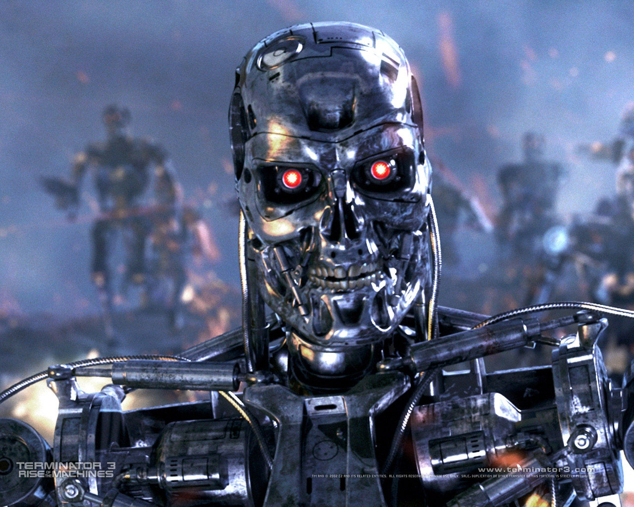 T 800 Terminator The T-800 is now the most