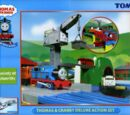 Thomas and Cranky Deluxe Action Set