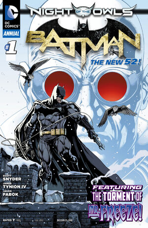 [DC Comics] Batman: discusión general 300px-Batman_Annual_Vol_2_1