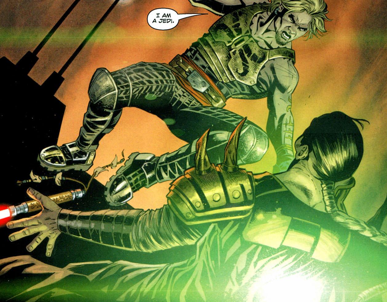 Darth Krayt vs Darth Malgus Darth Krayt's Final Death at