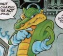 Vector the Crocodile (Sonic the Comic)