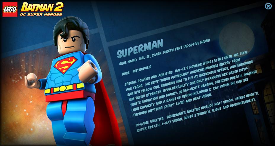 Lego Batman 2 Characters Lego Batman 2 Characters