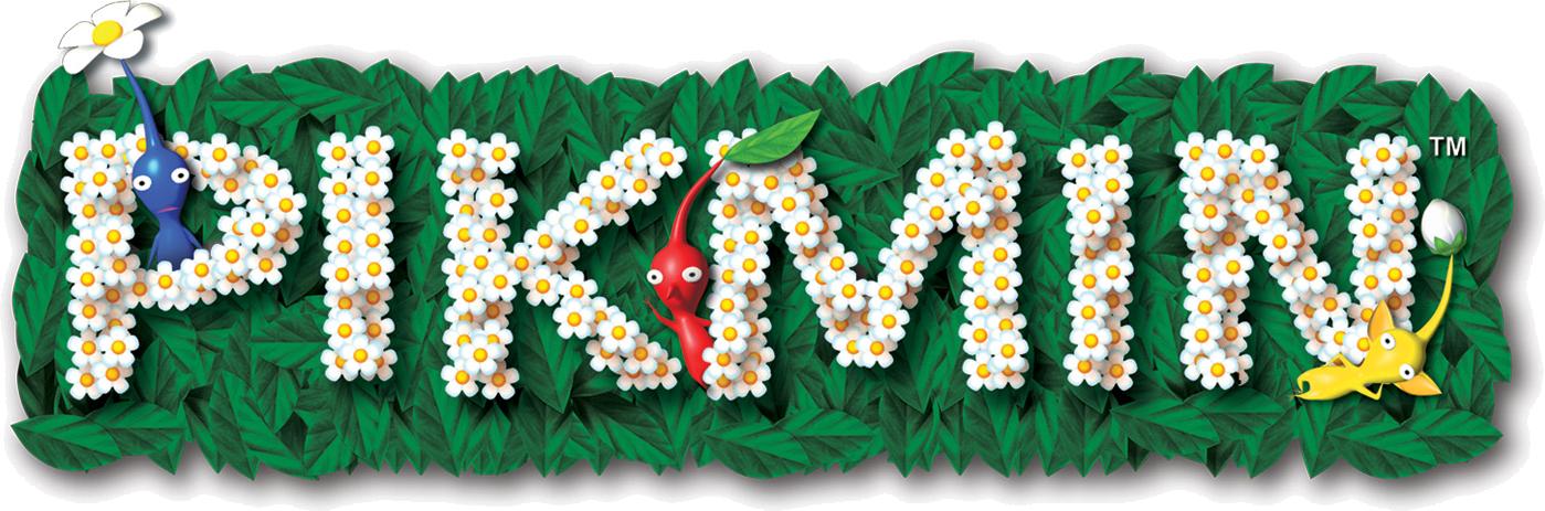 Image - Pikmin logo.png - Logopedia, the logo and branding ...