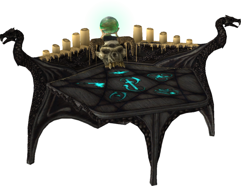 The Arcane Enchanter is a magical table that allows the Dragonborn to ...
