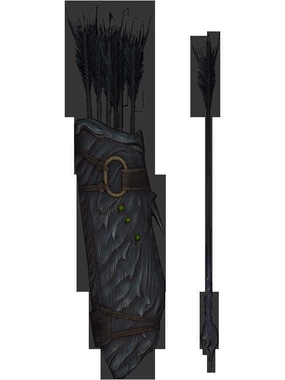 SEG Daedric Arrow [2 of 3] by Treeps on DeviantArt |Daedric Arrows