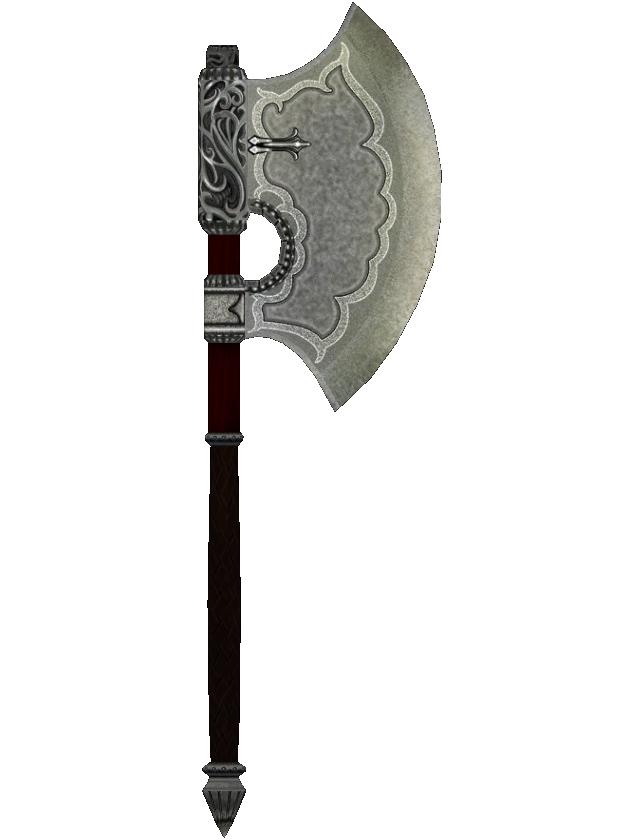 Fine Steel Battle Axe The Elder Scrolls Wiki