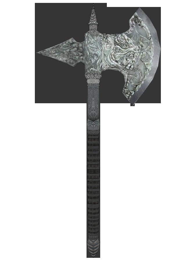 Silver Battle Axe Elder Scrolls Wikia