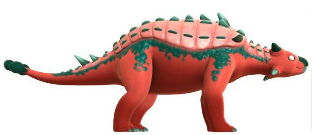Euoplocephalus - Dinosaur Train Wiki