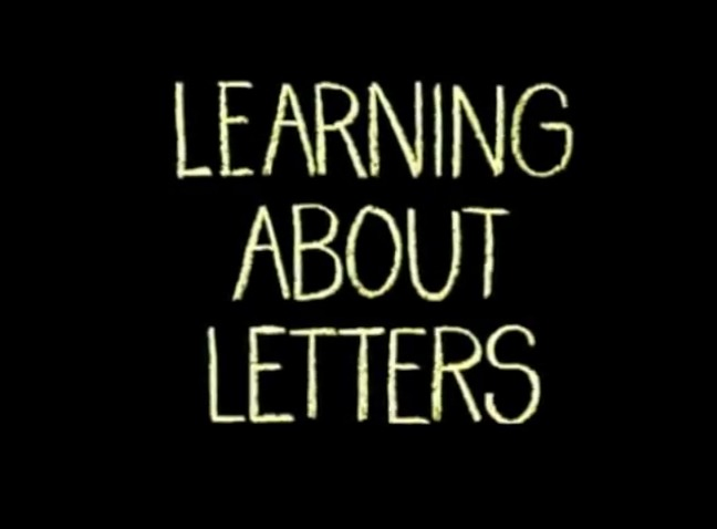 Learning About Letters is a 1986 Sesame Street direct-to-video ...