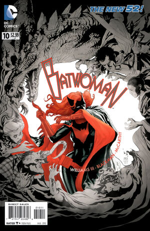 Cover for Batwoman #10 (2012)