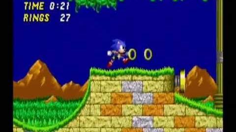 Sonic the Hedgehog 2 Aquatic Ruin Act 1