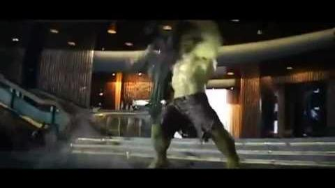 Hulk Smashing Loki. LOL
