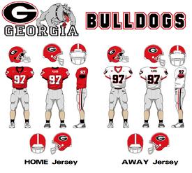 SEC-Uniform-UGA Bulldogs
