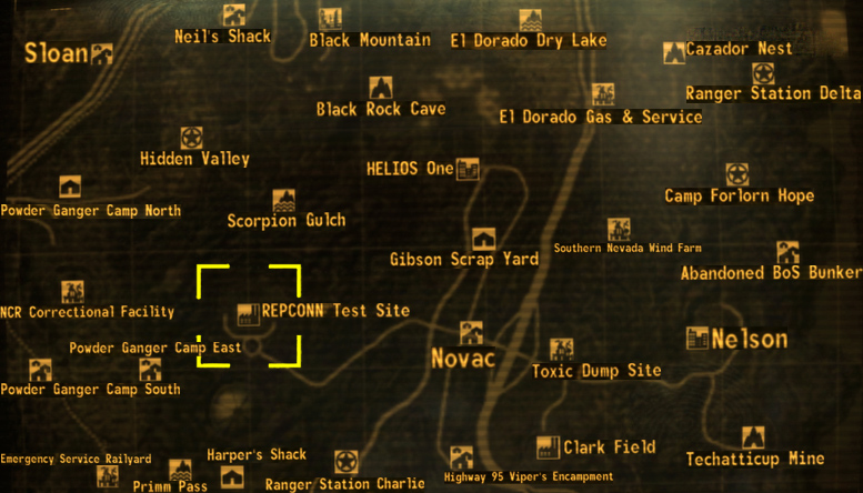 repconn test site the fallout wiki fallout new vegas and more