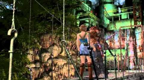 Nemesis on the bridge (cutscene)